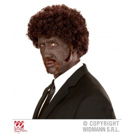 Peluca Pulp Fiction Afro.Pelucas Adulto