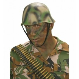 Casco Camuflaje Latex