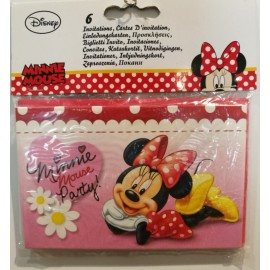 Pack Invitaciones Minnie