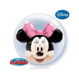 Globo Bubble Minnie Mousse