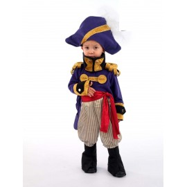 General Frances.Disfraz Piratas Infantil