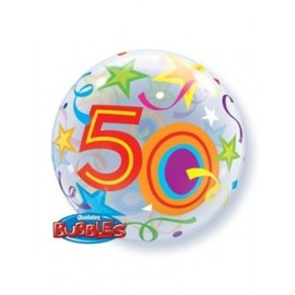 Globo Bubble 50 brillante
