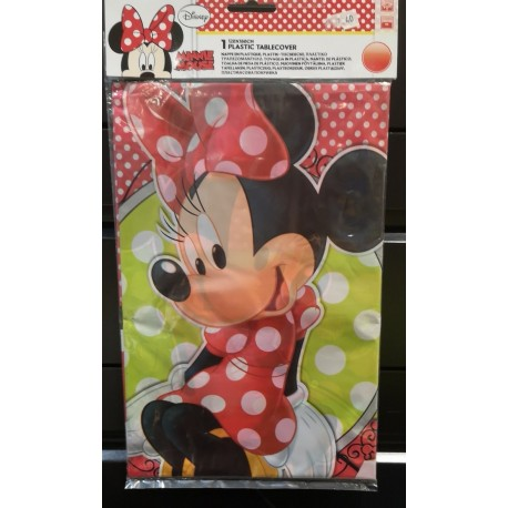 Mantel Plastico Minnie
